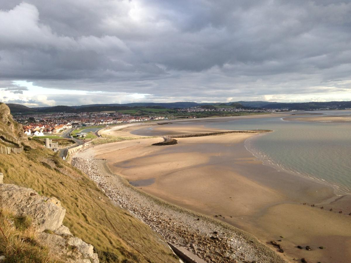 View from Great Orme.  C Bell